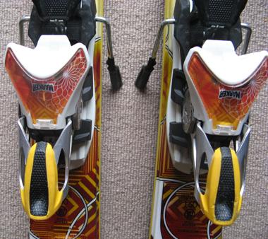 K2 super burnin marker bindings K2 Burnin Luv Skis are now the K2 Super Burnin 2012